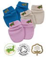 Newborn Baby Eczema Scratch Mittens