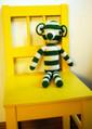 Erica Laurell Organic Crochet Kit for Teddy in Green