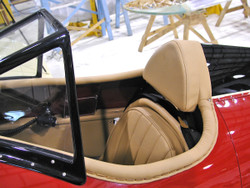 Coaming and Headrest Leather Kit (Pilot Cockpit)