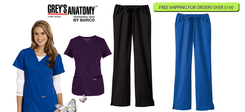 Nurse uniforms - online - Grey's Anatomy