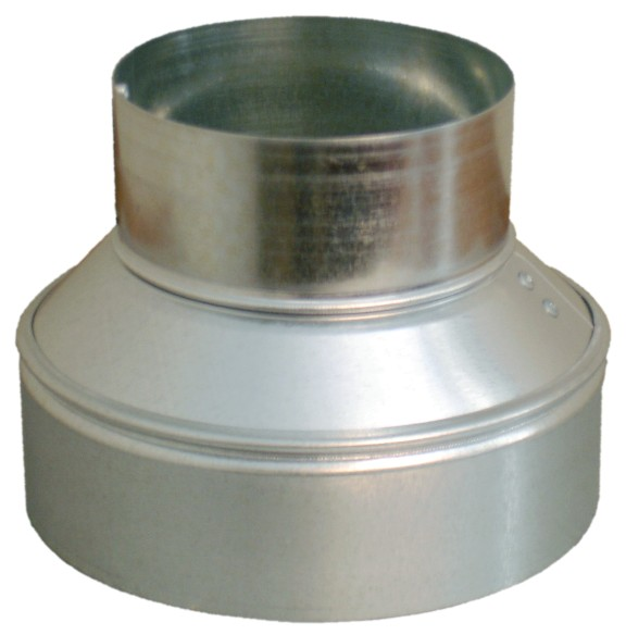 Hvac galvanized sheet metal reducers