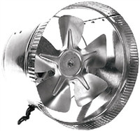 "DiversiTech 625-AF12"" Round Inline Duct Booster Fan"