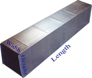 Square Sheet Metal Duct Work