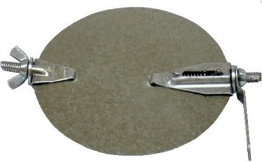 "4"" Damper Disc with hardware"