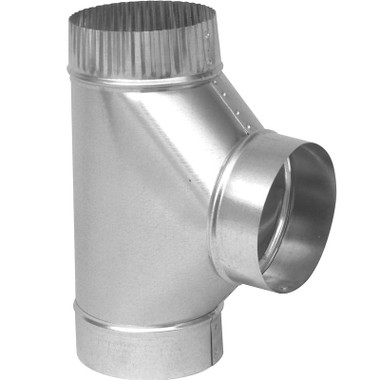 12 X 12 X 8 Ductwork Tee Branch Air Fitting