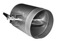 """12"""" Duct Volume Damper Sleeve w/ 1.5"""" Stand-Off Handle"""