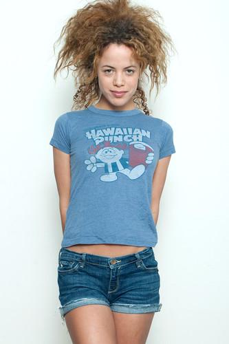 "Junk Food T shirt HAWAIIAN PUNCH Blue S (15"" width)"