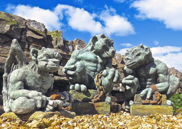 Gargoyls & Demons Handmade Garden Ornaments
