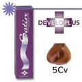 Developlus Satin Color #5CV Light Copper Violet Chestnut 3oz