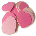 Soft Touch Heart Shaped Files