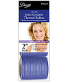 "Diane  Self Grip Ionic/Ceramic Thermal Rollers 2"" Blue"