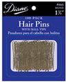"""Diane HAIR PINS 1-3/4"""" Bronze 100PK CARD"""