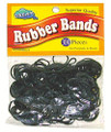 Dream World Rubber Bands  Black  300 Pieces