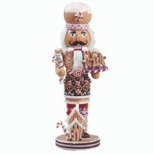 "Kurt Adler 16"" Gingerbread Nutcracker # C1027"