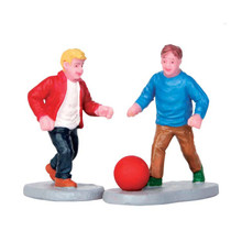 Lemax Village Collection Playground Pals, Set Of 2 #52376