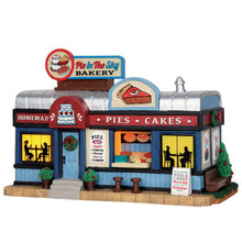 Lemax Village Collection Pie In The Sky Bakery #55001