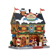 Lemax Village Collection Nutcracker & Wood Toy Carve #55994