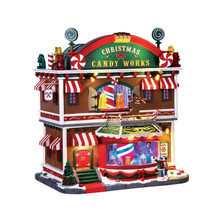 Lemax Village Collection Christmas Candy Works #65164