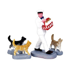 Lemax Village Collection Merry Milkman, Set Of 4 #72511