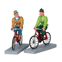 Lemax Village Collection Bloomers And Bicycles, Set Of 2 #72514