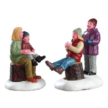 Lemax Village Collection Quality Time With Mom, Set Of 2 #72524