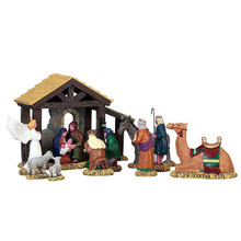 Lemax Village Collection First Christmas, Set Of 11 #73312