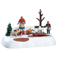 Lemax Village Collection Winter Farm Chores #74210