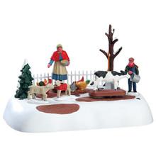Lemax Village Collection Winter Farm Chores #74210