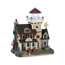Lemax Village Collection Shell Beach Lighthouse B&B #75210