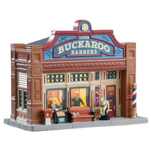 Lemax Village Collection Little Buckaroo Barbershop #75253