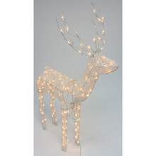 4ft Animated Lighted Standing Deer