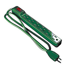 PowerMax Power Strip in Green