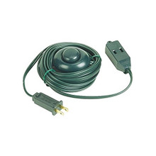 TapperMax 9ft 3-Outlet Extension Cord in Green