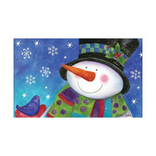 Briarwood Lane Festive Snowman Doormat #D00511