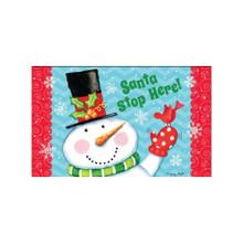 Briarwood Lane Santa Stop Here Doormat #D00515