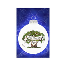 Heart Gifts by Teresa Just Married Tree #2084