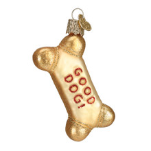Old World Christmas Dog Biscuit Ornament #32130