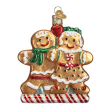 Old World Christmas Gingerbread Friends Ornament #32219