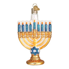 Old World Christmas Menorah Ornament #36177
