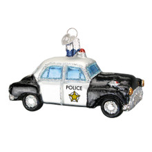Old World Christmas Police Car Ornament #46044