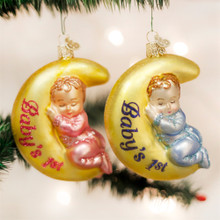 Old World Christmas Dreamtime Ornament, 3 Assorted #10199