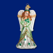 Old World Christmas Irish Angel Ornament #10218