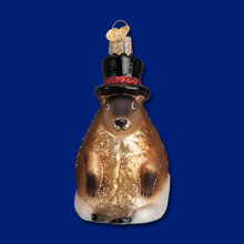 Old World Christmas Groundhog Ornament #12412