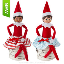 The Elf on the Shelf - Claus Couture Twirling in the Snow Skirts