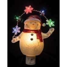 Snomwan with Garland LED Night Light #164073RI