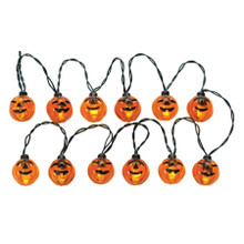 Lemax Village Collection 12 Lighted Pumpkin Garland String #24759