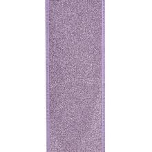 Kurt Adler 10yd Lavender Glitter Ribbon #T2220