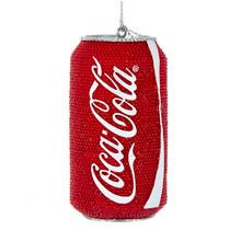 Kurt Adler Coca Cola Rhinestone Can Ornament #CC2176