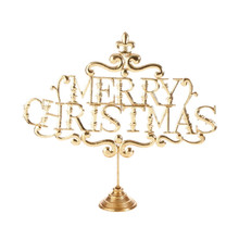 RAZ 26.5in Merry Christmas Sign #3709290