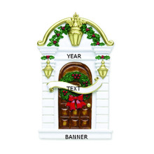 Rudolph & Me Holly Door Personalized Ornament #16
